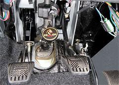 Блокиратор DRAGON на рулевой вал ВАЗ 2110-12