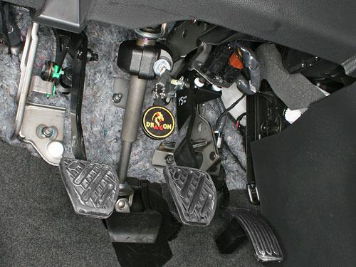 Механическое противоугонное устройство на Рулевой вал<br>Nissan X-Trail (2007- ) мех. КП