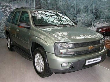 Chevrolet Trailblazer авт. КП