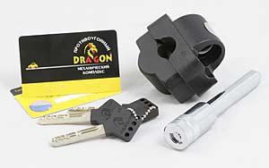 механическое противоугонное устройство DRAGON на рулевой вал