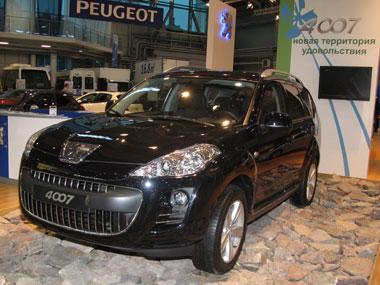 Комплексная защита от угона для Peugeot 4007 от DRAGON