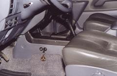 Toyota Land Cruiser Prado. Установка замков не портит эстетику салона